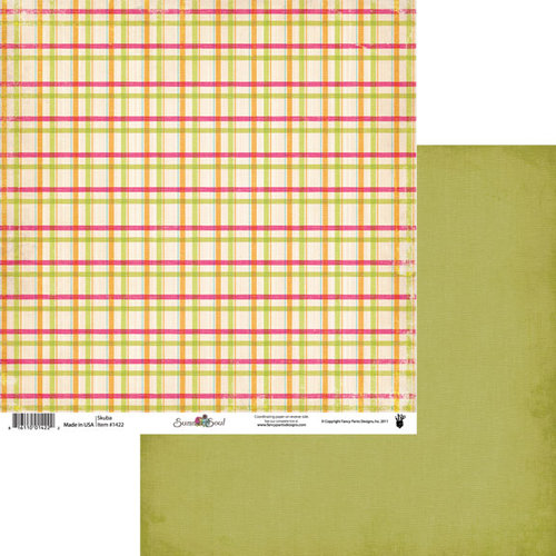 Fancy Pants Designs - Summer Soul Collection - 12 x 12 Double Sided Paper - Scuba