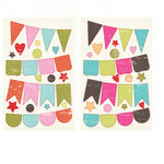 Fancy Pants Designs - Summer Soul Collection - Chipboard Stickers - Banners