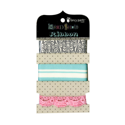 Fancy Pants Designs - Road Show Collection - Ribbon Card