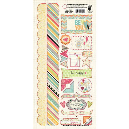 Fancy Pants Designs - Be You Collection - Cardstock Stickers - Element
