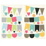 Fancy Pants Designs - Be You Collection - Chipboard Stickers - Banners