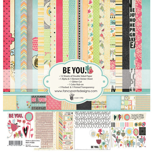 Fancy Pants Designs - Be You Collection - 12 x 12 Paper Kit