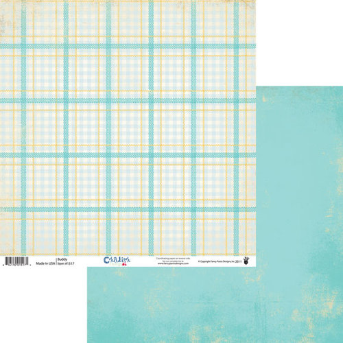 Fancy Pants Designs - Childish Things Collection - 12 x 12 Double Sided Paper - Buddy