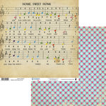 Fancy Pants Designs - Childish Things Collection - 12 x 12 Double Sided Paper - Sheet of Music