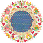 Fancy Pants Designs - Childish Things Collection - Filter Flower Paper Embellishments