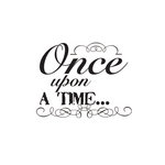 Fancy Pants Designs - Childish Things Collection - Clear Acrylic Stamps - Once Upon a Time
