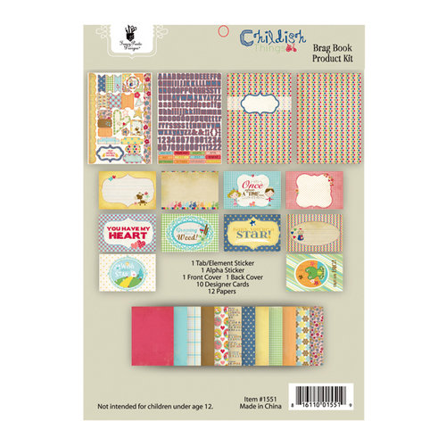 Fancy Pants Designs - Childish Things Collection - Brag Book Kit