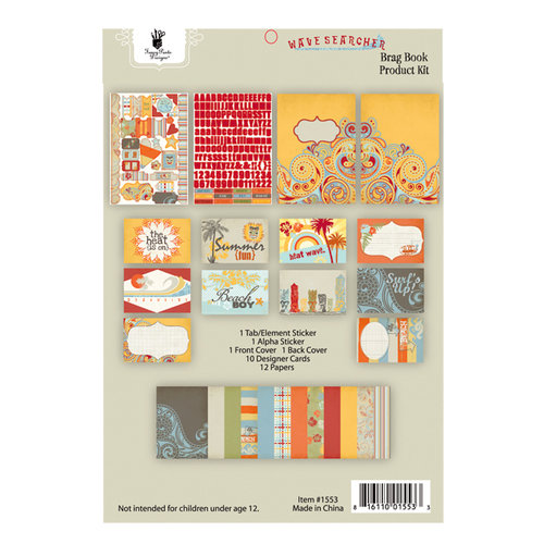 Fancy Pants Designs - Wave Searcher Collection - Brag Book Kit