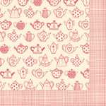 Fancy Pants Designs - Its Time for Spring Collection - 12 x 12 Double Sided Paper - Tip Me Over