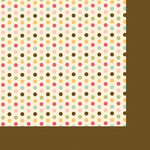 Fancy Pants Designs - Its Time for Spring Collection - 12 x 12 Double Sided Paper - Sugar Cream