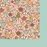 Fancy Pants Designs - Its Time for Spring Collection - 12 x 12 Double Sided Paper - Pour Me Out