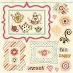 Fancy Pants Designs - Its Time for Spring Collection - 12 x 12 Cardstock Die Cuts
