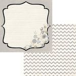 Fancy Pants Designs - Country Boutique Collection - 12 x 12 Double Sided Paper - Country Bracket