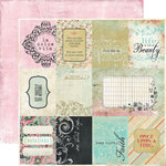 Fancy Pants Designs - Road Show Collection - 12 x 12 Double Sided Paper - Cards