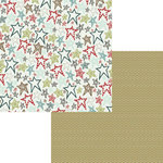 Fancy Pants Designs - Little Sport Collection - 12 x 12 Double Sided Paper - All Star