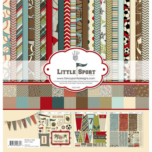 Fancy Pants Designs - Little Sport Collection - 12 x 12 Paper Kit