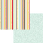 Fancy Pants Designs - The Good Life Collection - 12 x 12 Double Sided Paper - Happy