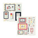 Fancy Pants Designs - The Good Life Collection - 12 x 12 Adhesive Chipboard Die Cuts - Frames