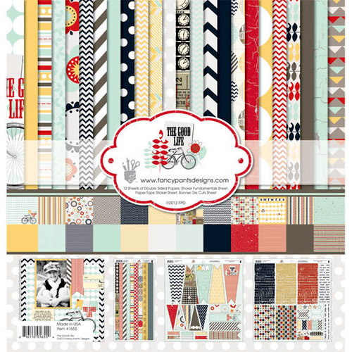 Fancy Pants Designs - The Good Life Collection - 12 x 12 Paper Kit