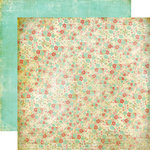 Fancy Pants Designs - Road Show Collection - 12 x 12 Double Sided Paper - Shabby Floral