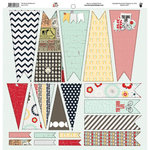 Fancy Pants Designs - The Good Life Collection - 12 x 12 Cardstock Die Cuts - Banner