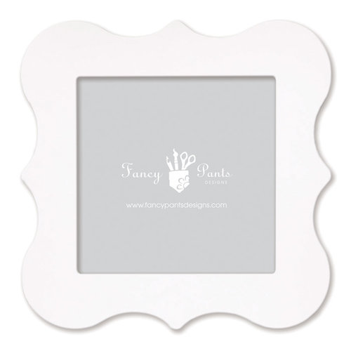 Fancy Pants Designs - 12 x 12 Frame - Bracket - Naked White