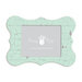 Fancy Pants Designs - 8 x 10 Frame - Bracket - Aqua Paint Wash