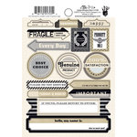 Fancy Pants Designs - Etcetera Collection - Cardstock Stickers - Labels