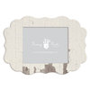 Fancy Pants Designs - 8 x 10 Frame - Scallop - White Paint Wash