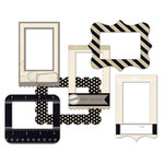 Fancy Pants Designs - Etcetera Collection - Patterned Photo Frames