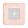 Fancy Pants Designs - 6 x 6 Frame - Scallop - Pink Gingham