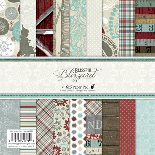 Fancy Pants Designs - Blissful Blizzard Collection - 6 x 6 Paper Pad