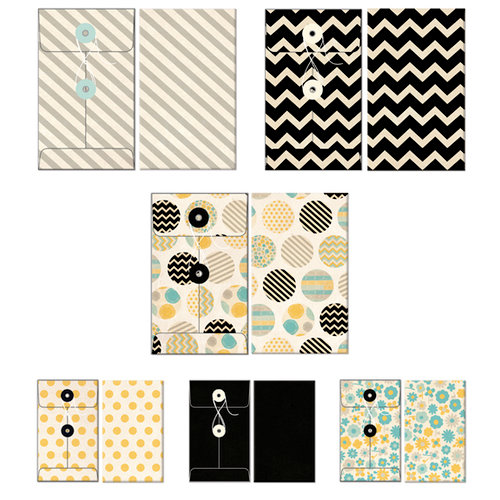 Fancy Pants Designs - Park Bench Collection - Patterned Envelopes