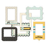 Fancy Pants Designs - Park Bench Collection - Patterned Photo Frames