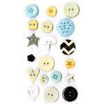 Fancy Pants Designs - Park Bench Collection - Button Set