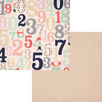 Fancy Pants Designs - Trend Setter Collection - 12 x 12 Double Sided Paper - Digits
