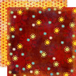 Fancy Pants Designs - Rusted Sun Collection - 12 x 12 Double Sided Paper - Indian Summer