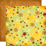 Fancy Pants Designs - Rusted Sun Collection - 12 x 12 Double Sided Paper - Sunrise