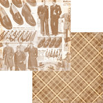 Fancy Pants Designs - Swagger Collection - 12 x 12 Double Sided Paper - Silk Tie