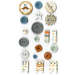 Fancy Pants Designs - Swagger Collection - Button Set