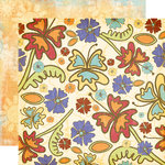 Fancy Pants Designs - Rusted Sun Collection - 12 x 12 Double Sided Paper - Laguna Beach