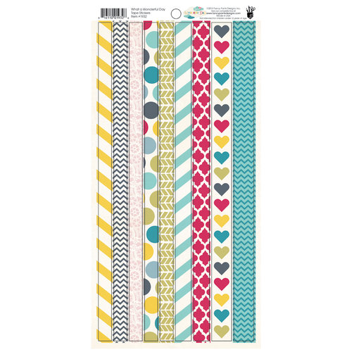 Fancy Pants Designs - Wonderful Day Collection - Cardstock Stickers - Tape