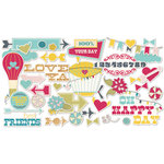 Fancy Pants Designs - Wonderful Day Collection - Ephemera Pack