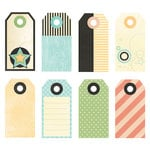 Fancy Pants Designs - Memories Captured Collection - Decorative Tags