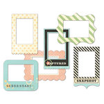 Fancy Pants Designs - Memories Captured Collection - Patterned Photo Frames