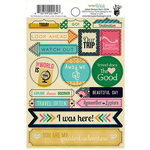 Fancy Pants Designs - As You Wish Collection - Cardstock Stickers - Labels
