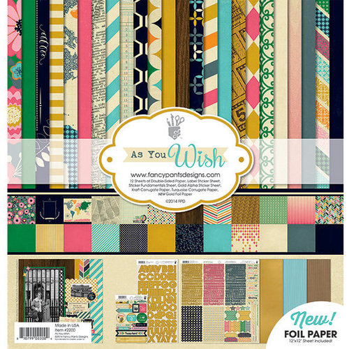 Fancy Pants Designs - As You Wish Collection - 12 x 12 Collection Kit