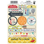 Fancy Pants Designs - Nautical Collection - Cardstock Stickers - Labels