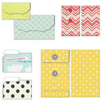 Fancy Pants Designs - Nautical Collection - Patterned Envelopes