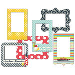 Fancy Pants Designs - Nautical Collection - Patterned Photo Frames